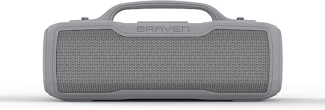 Braven BRV-XL - Waterproof Speaker - Rugged, Grey