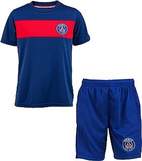 Completo sportivo da calcio con maglia e pantaloncini dellItalia per bambini Enesco