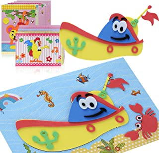 NUROTA 20Pcs DIY Kids Crafts Kits, Creative and FunArt Projects for Preschoolersand Toddlers, Kids Kindergarten School A...