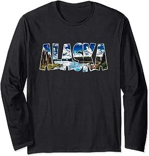 Alaska Gift Souvenir Keepsake Alaskan Talkeetna Denali AK Long Sleeve T-Shirt