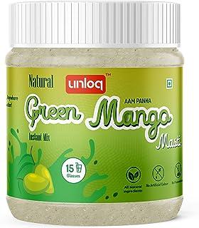 Unloq Green Mango Masti (Aam Panna) Instant Drink Mix, All Natural | All Natural | No Artificial Colour | No Preservatives...