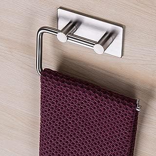 adhesive hand towel holder