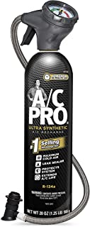 InterDynamics A/C Pro ACP200-6 Ultra Synthetic A/C Recharge R-134a Kit (20 Ounces)