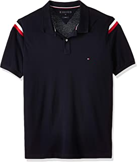 Tommy Hilfiger Men's Shoulder Gs Insert Slim Polo Polo