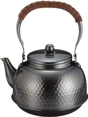 新光堂 真心 純銅黒銅仕上げ鎚目湯沸し2.3L BC-7 1896g
