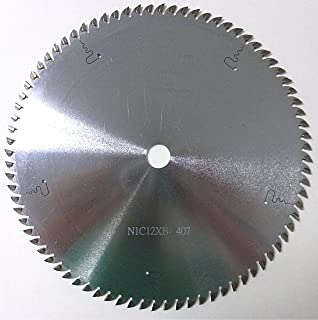 Popular Tools NM880 Blind Cutting Saw, 205 mm Diameter, 80T Teeth. 1.5 mm Plate, 5/8