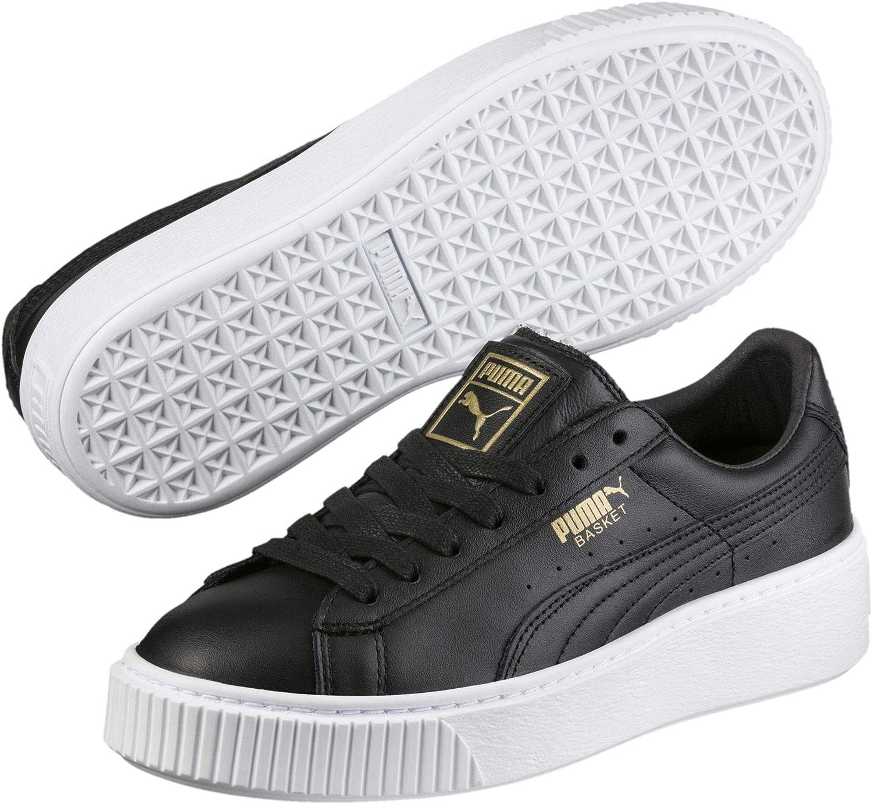 Puma Women's Basket Platform Core Low-Top Sneakers