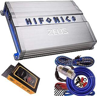 $179 » Hifonics ZG-2400.1D Zeus Gamma 1 Channel Super D Class 2400 Watt Car Audio Sound System Subwoofer Speaker Amp Amplifier wi...