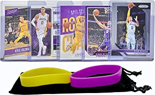 Kyle Kuzma Basketball Cards Assorted (5) Bundle - Los Angeles Lakers Trading Card Gift Pack