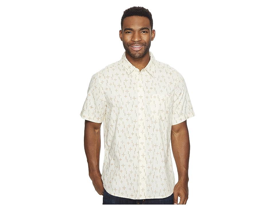 Toad&Co Fletch Print Short Sleeve Shirt (Salt Print) Men