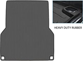 SMARTLINER Truck Bed Rugged Rubber Liner Mat for Toyota Tacoma 05-20 with 5 ft Long Bed