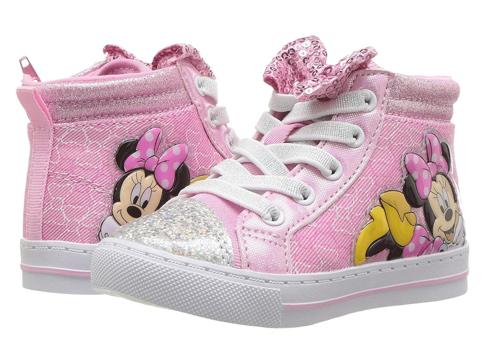 Josmo Top Kids Minnie Bow High Top Josmo (Toddler/Little Kid) 94cb8a