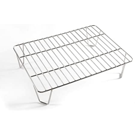 Green Mountain Grills Davy Crocket Pellet Grill Upper Rack Addition for Doubled Cooking Space
