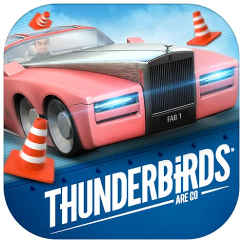 Parker's Driving Challenge - Thunderbirds Are Go