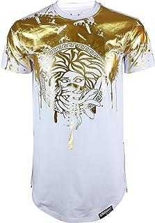 Screenshotbrand Mens Hipster Hip-Hop Premiun Tees - Stylish Longline Latest Fashion Print T-Shirts