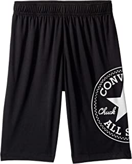 Converse Kids Boy's Chuck Patch Wrap Mesh Shorts (Big Kids)