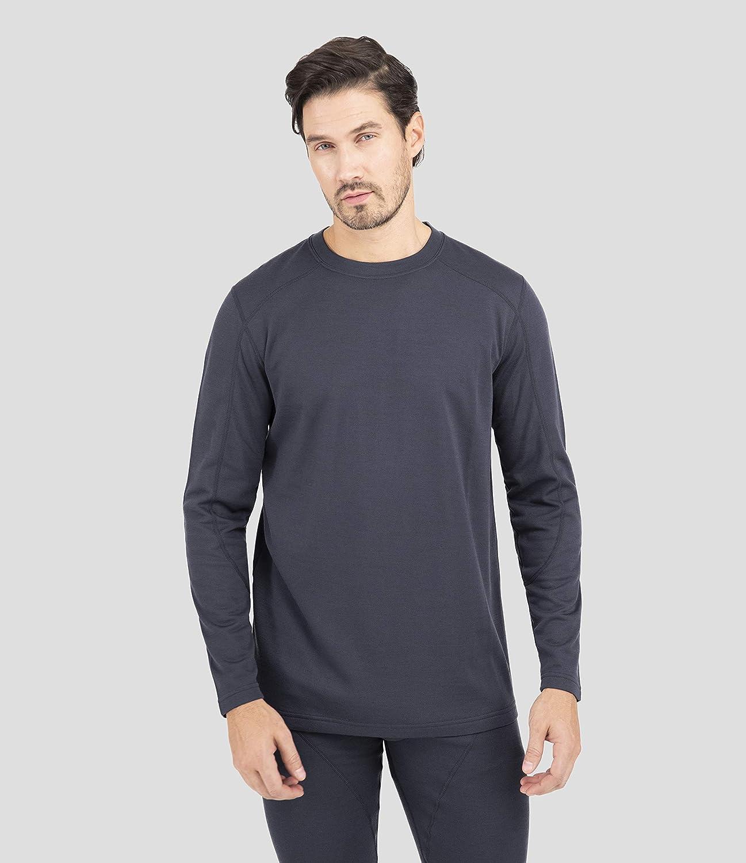 Terramar Mens Long Sleeve Crew Shirt