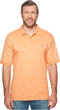 Polo Ralph Lauren - Big & Tall Pima Polo Short Sleeve Knit