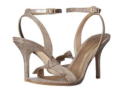 Pelle Moda Kim2 (Platinum Gold Metallic Textile) Women