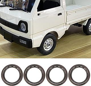 Rolamento de roda RC, modelo de rolamento de roda forte e eficiente para usuários de carros de controle remoto WPL D12