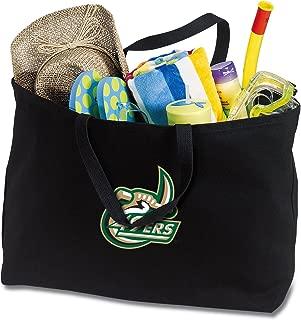 Broad Bay Jumbo University of North Carolina Charlotte Tote Bag or Large Canvas UNCC Shopping Bag