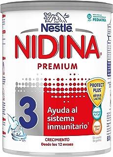 Nestlé NIDINA 3 - A partir de los 12 meses - Leche de crecimiento en polvo - Fórmula infantil - 800g