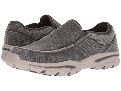 SKECHERS Relaxed Fit: Creston Moseco (Charcoal) Men