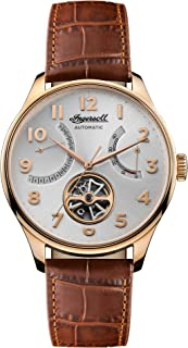 Ingersoll - Mens Analogue Classic Automatic Watch with Leather Strap I04603