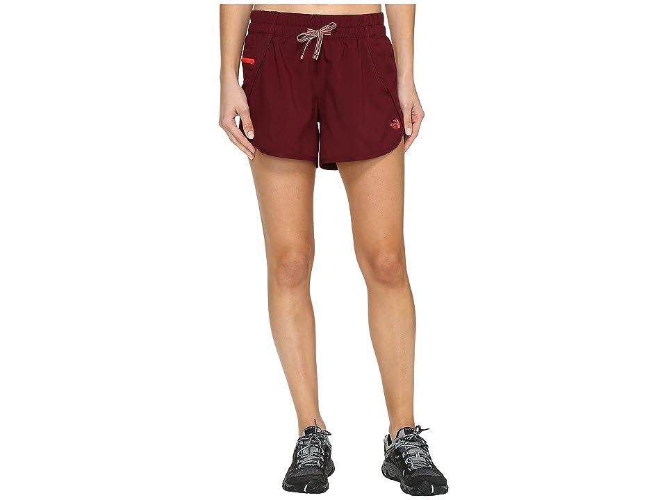 The North Face Class V Shorts (Deep Garnet (Prior Season)) Women
