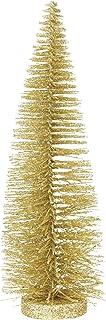 Department 56 Christmas Basics Glitter Tree Figurine, 13.7 Inch, Gold