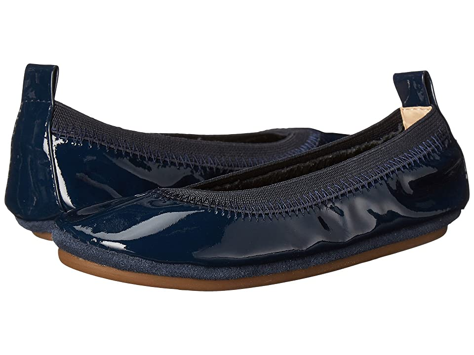 Yosi Samra Kids Sammie Patent Leather (Toddler) (Deep Navy) Girl