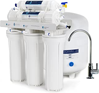 Olympia Water Systems OROS-50 5-Stage Reverse Osmosis Water Filtration System with 50GPD Membrane - NSF Certified