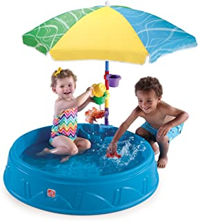hard sided kiddie pool with slide