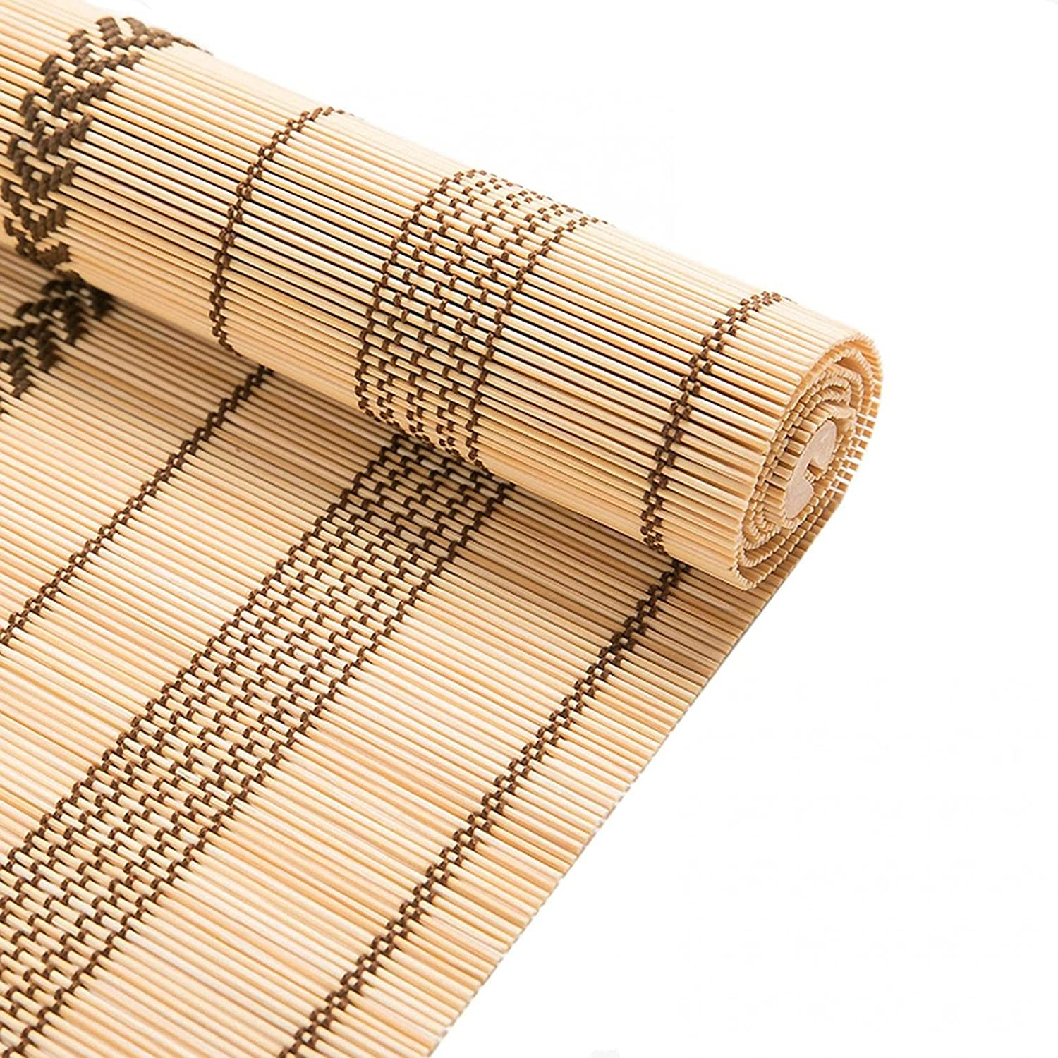 ZHJIUXING SF Bamboo Blinds - Window Max 72% OFF and Quality inspection Roller Doors for