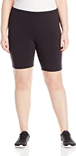 Just My Size Women's Plus-Size Stretch Jersey Bike Short