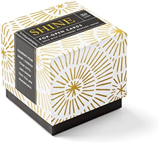 ThoughtFulls Pop-Open Cards by Compendium: Shine — 30 pop-Open Cards, Each with a Different Inspiring Message Inside