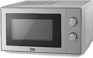 Beko MGC20100S - Horno microondas (20 L, 700 W, 20 L), color plateado