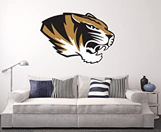 NCAA 12 Tall Primary Mascot Wall Cling