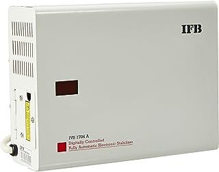 IFB IVS 1704A 150-305V Voltage Stabilizer (White, Metallic Finish)