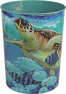River's Edge Products Guy Harvey Turtle Waste Basket
