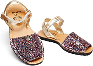 Sandals for toddler girls little kid leather flats from Spain