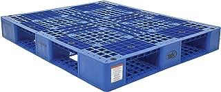 Vestil PLP2-4840-BLUE Blue Polyethylene Pallet with 4 Way Entry, 6600 lbs Capacity, 39.5