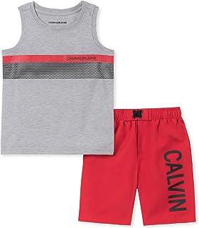 Calvin Klein 2 Pieces Muscle Top Shorts Set