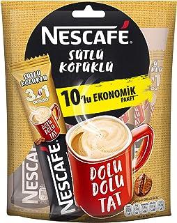 Nescafe 3'Ü 1 Arada Sütlü Köpüklü 17,4Gr 10'Lu