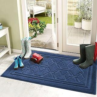 "Color&Geometry Indoor Doormat, Front Door Mat 32""x48"", Non Slip Machine Washable Quickly Absorb Low-Profile for Entrance, ..."