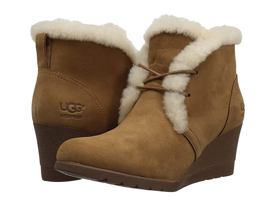 UGG Jeovana Waterproof (Chestnut) Women
