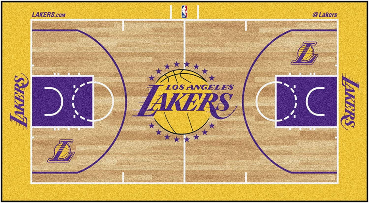 FANMATS NBA Unisex-Adult Court Runner Ranking Large discharge sale TOP2