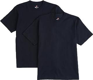[ヘインズ] ビーフィー Tシャツ BEEFY-T 2枚組 綿100% 肉厚生地 ヘビーウェイト H5180-2 メンズ