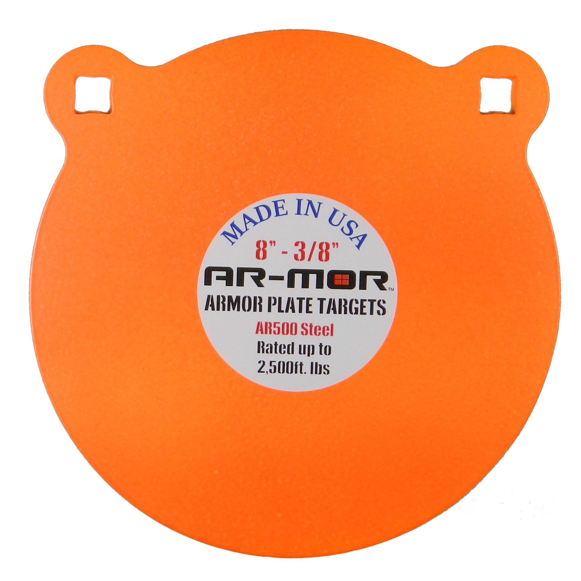 AR MOR Targets Round AR 500 Orange