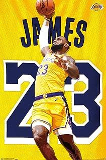 Kinder Jungen M/ädchen M/änner Erwachsene Lebron James # 23 LBJ LA Lakers Retro Basketball Trikots Sommer Anz/üge Kits Top Shorts 1 Set-Black-M
